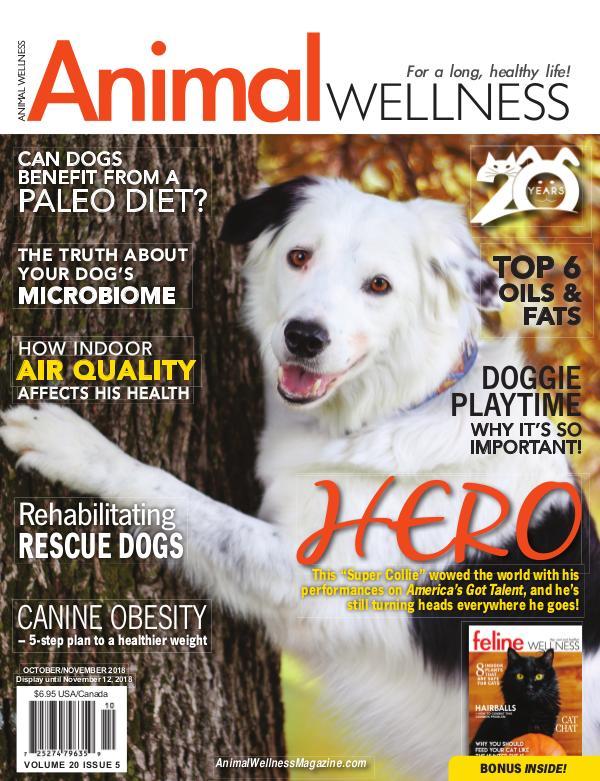 Animal Wellness Back Issues Oct/Nov 2018