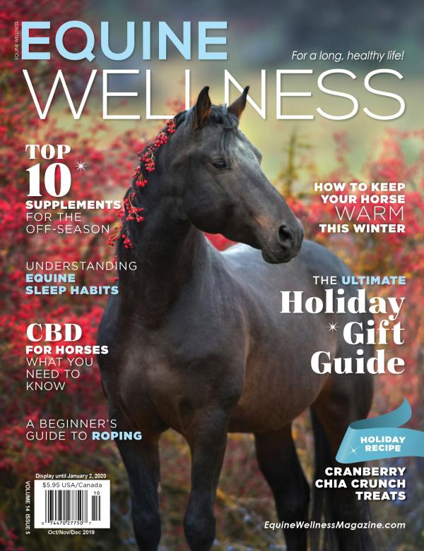 Advertising Magazine Samples Equine Wellness Oct/Nov/Dec 2019