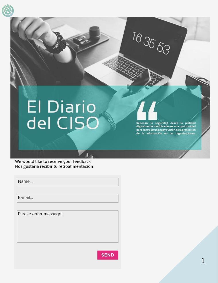 El Diario del CISO Volumen 8