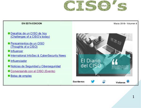 (The CISO Journal) Edición 8 2018
