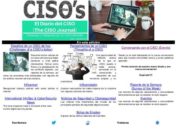 El Diario del CISO (The CISO Journal) Edición 12