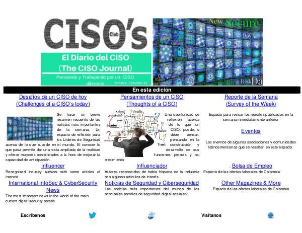 El Diario del CISO (The CISO Journal) Edición 31