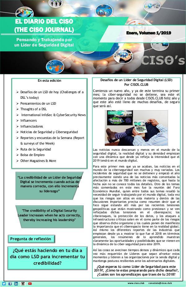 El Diario del CISO (The CISO Journal) Edición 1