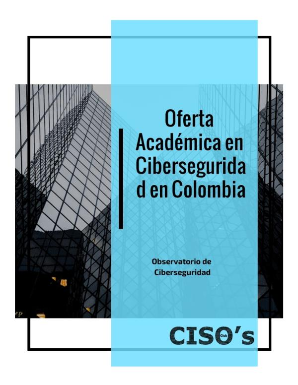 Observatorio de Ciberseguridad Primera edición
