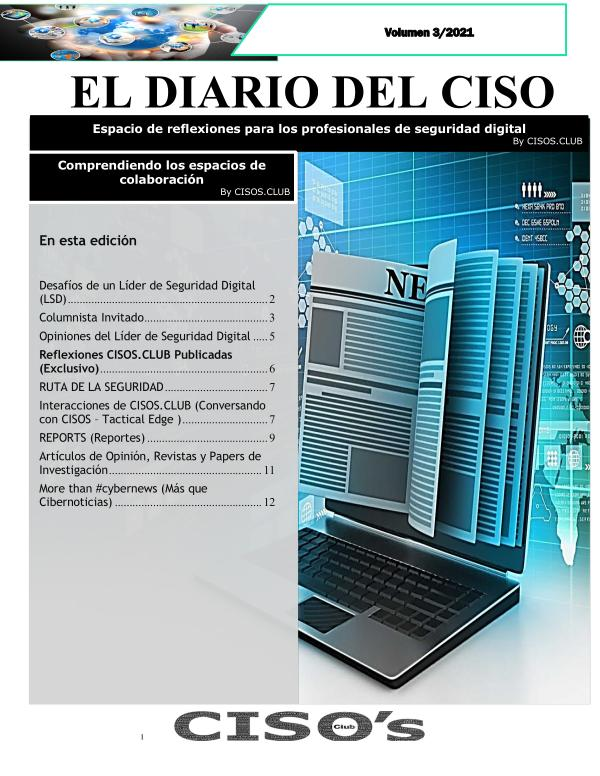 El Diario del CISO (The CISO Journal) Volumen 3