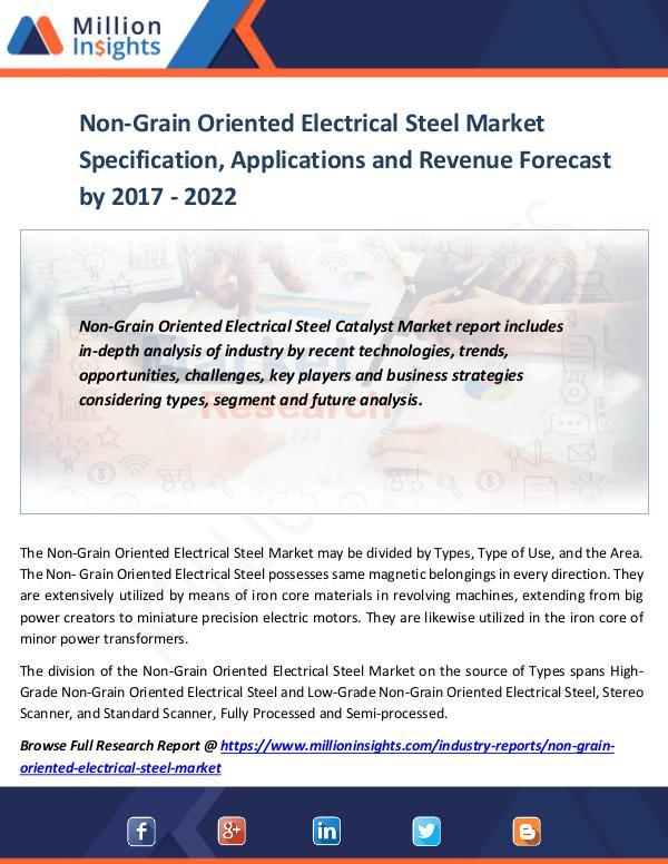 Non-Grain Oriented Electrical Steel Market