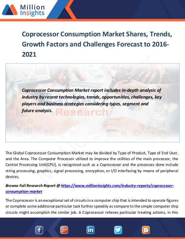 Market World Coprocessor Consumption Market