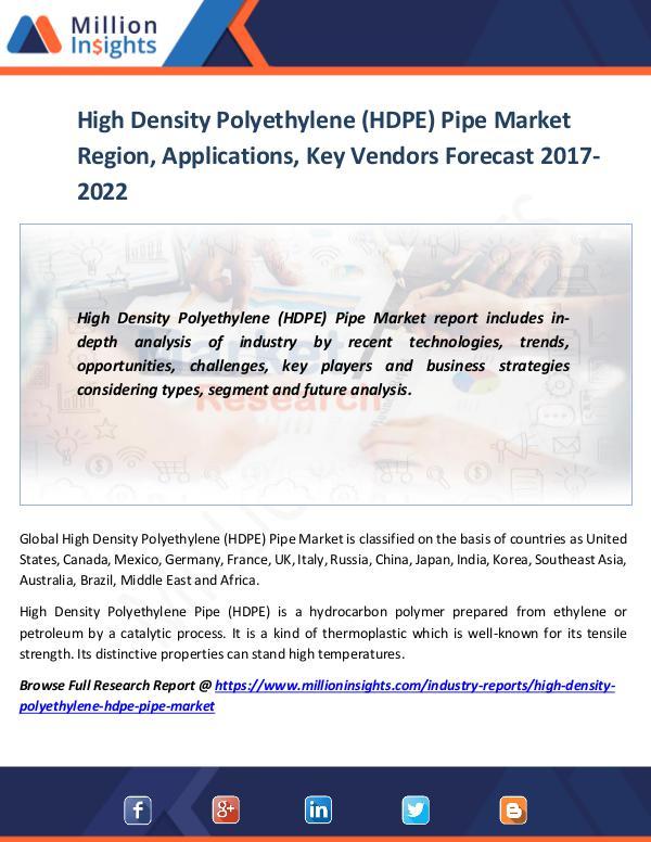 High Density Polyethylene (HDPE) Pipe Market