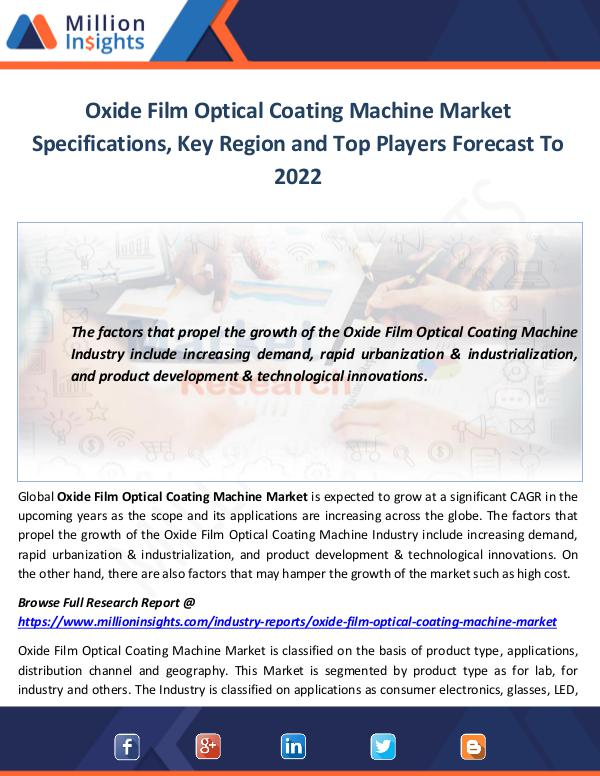 Oxide Film Optical Coating Machine Market