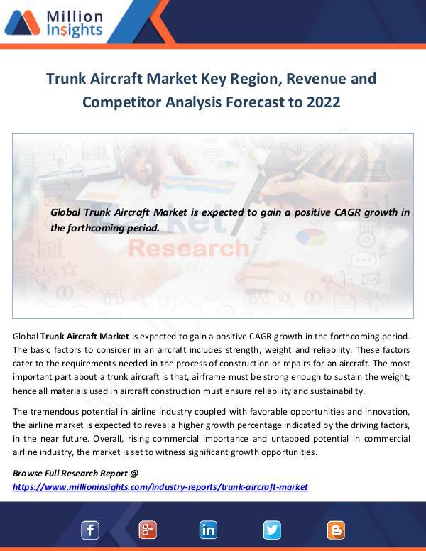 Trunk Aircraft Market