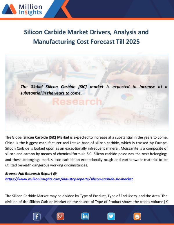Silicon Carbide Market Drivers