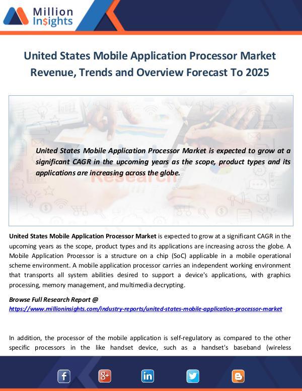 United States Mobile Application Processor Market