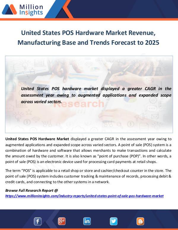United States POS Hardware Market