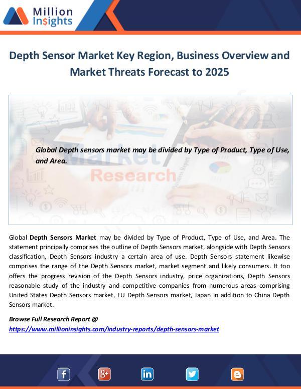 Depth Sensor Market