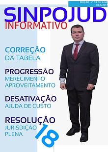 REVISTA SINPOJUD EDIÇÃO INFORMATIVO