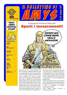 Tutti i Bollettini di AMys