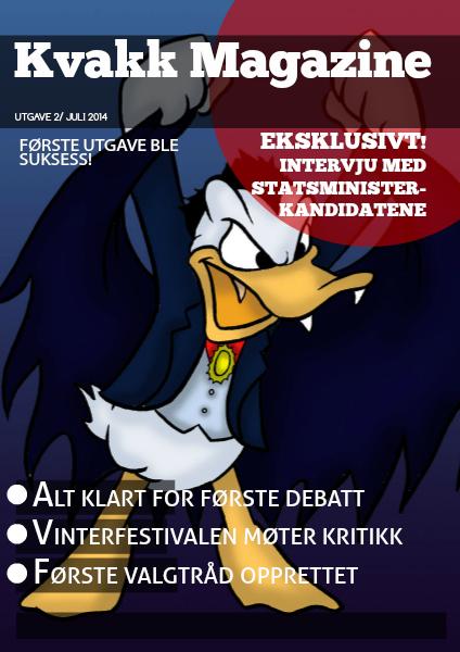 Kvakk Magazine Utgave 2 Juli 2014