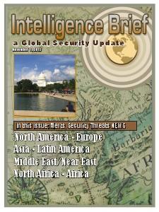 Intelligence Brief 11 November Issue