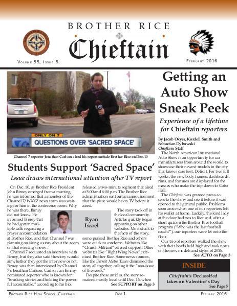 Chieftain Volume 55, Issue 5