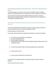 Consejos Naturales Para Controlar la Diabetes Tipo 2 — 7 Tips Sencill