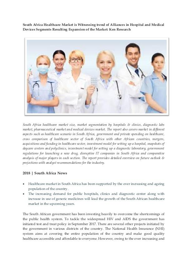 Ken Research - Sector Growth Healthcare South Africa