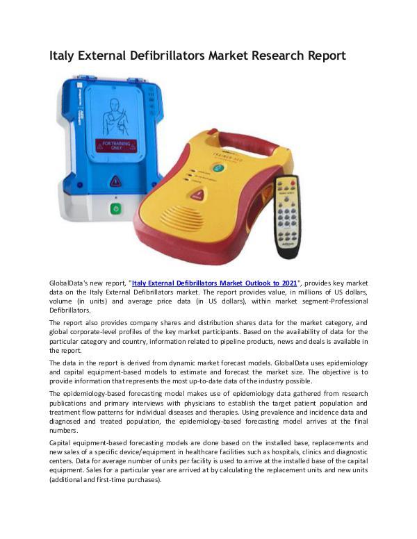 Ken Research - Italy External Defibrillators Industry Research Re