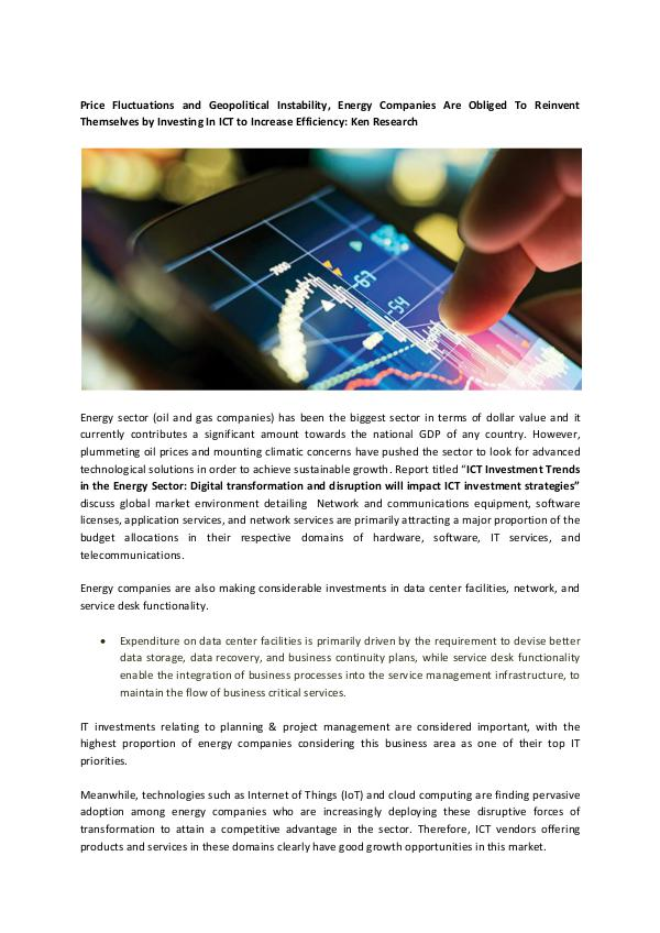 Ken Research - ICT Investment Trends in the Energy Sector