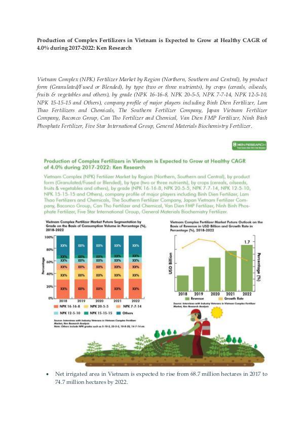 Ken Research - Vietnam Complex Fertilizer Demand