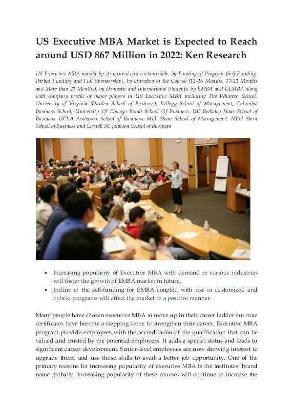 Ken Research - US Executive Education Market