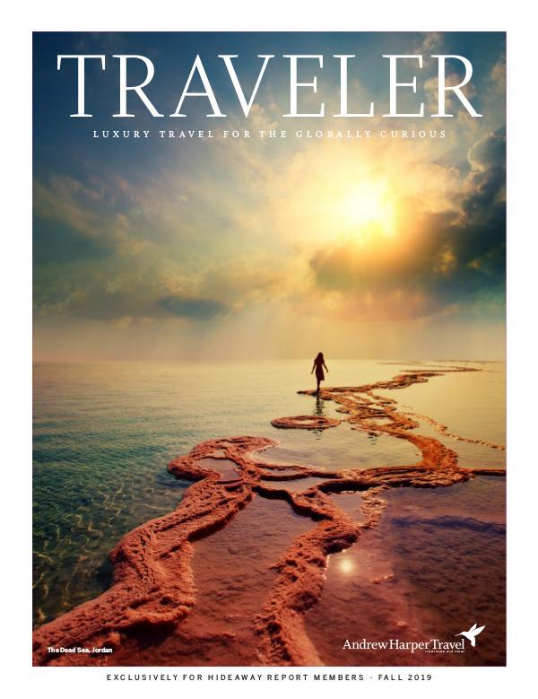 Traveler Magazine Andrew Harper Fall 2019
