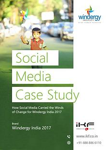 WINDERGY INDIA 2017 CASE STUDY