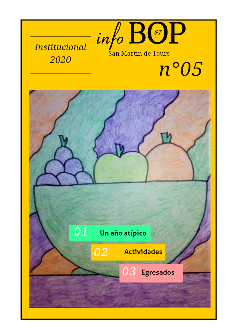 BOP 67. Revista Anual Institucional  N° 5. 2020 noviembre 2020. N°5