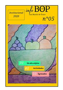 BOP 67. Revista Anual Institucional  N° 5. 2020