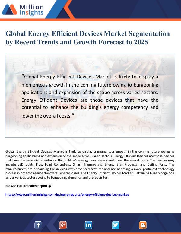 Market Giant Global Energy Efficient Devices Market Segmentatio