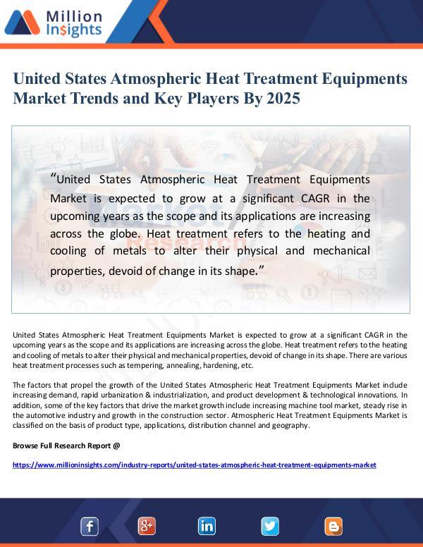 Market Giant United States Atmospheric Heat Treatment Equipment