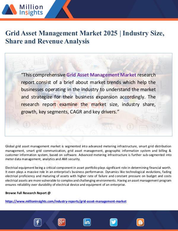 Global Research Grid Asset Management Market 2025- Industry Size,