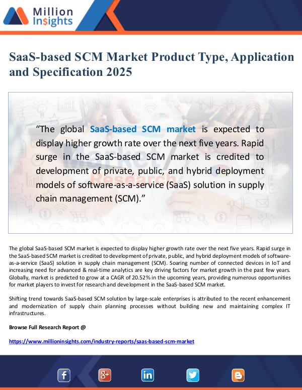 Market Giant SaaS-based SCM Market Product Type, Application an