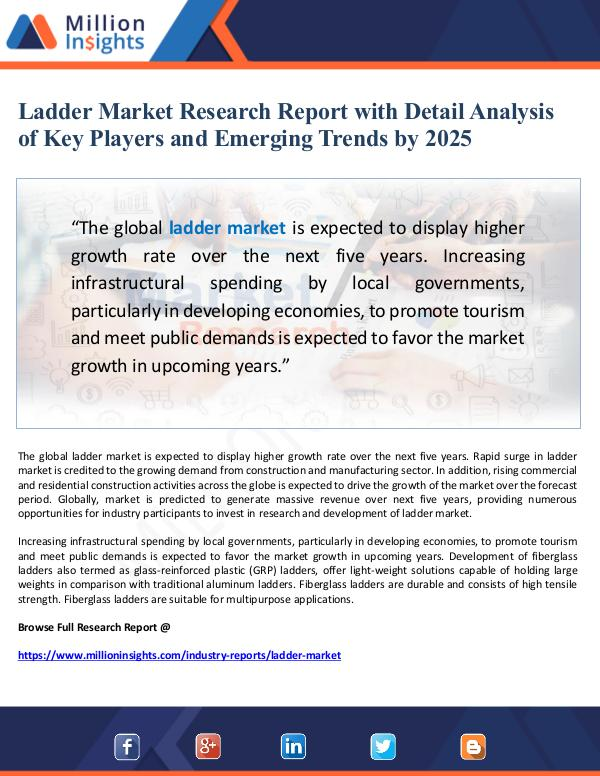 Ladder Market Research Report with Detail Analysis
