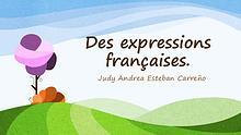Des expressions courantes en français.
