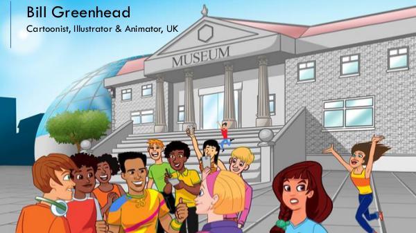Bill Greenhead - Cartoonist, Illustrator & Animator from UK Bill Greenhead