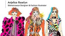 Anjelica Roselyn - Womenswear Designer & Fashion Illustrator, London
