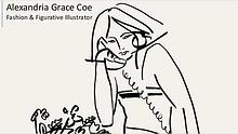 Alexandria Grace Coe - Fashion Illustrator & Figurative Artist