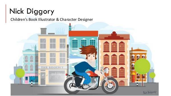 Nick Diggory - Children's Book Illustrator & Character Designer Nick Diggory