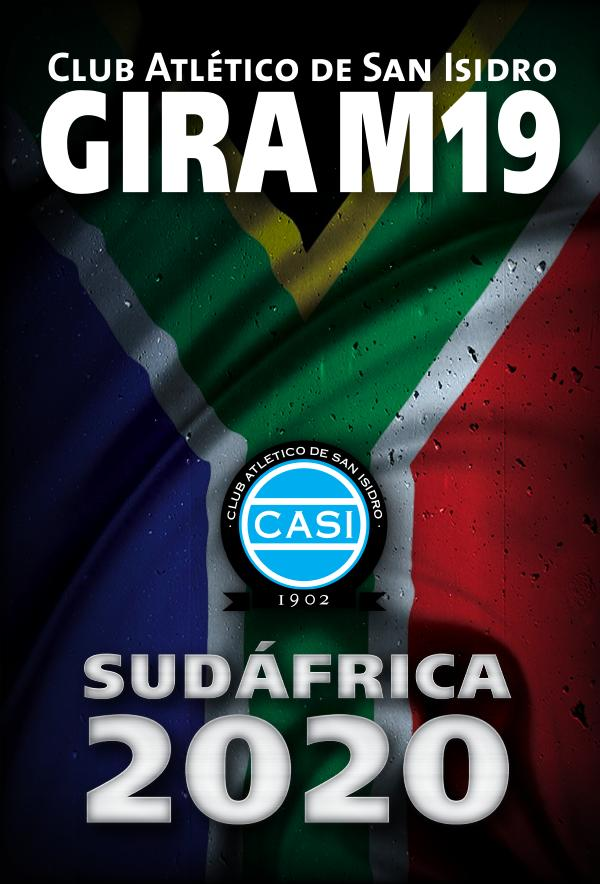 CASI - GIRA M19 Sudáfrica 2020 CASI M19-2020 CMYB IDML