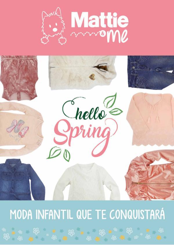 Mattie and Me: Pink Spring 2017 PDF CATALOGO MATTIE
