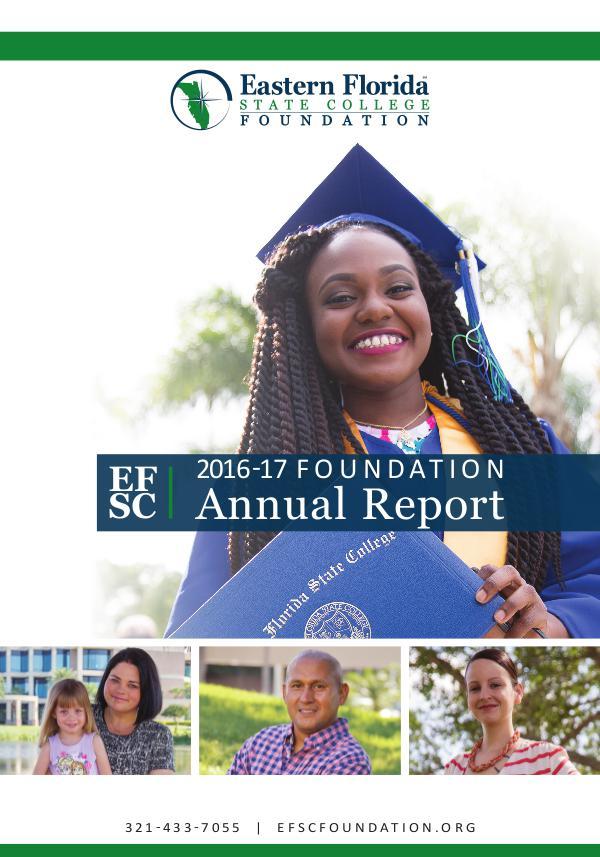 EFSC Foundation 2016-17 Foundation Annual Report