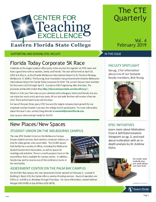 CTE Newsletter March 2019