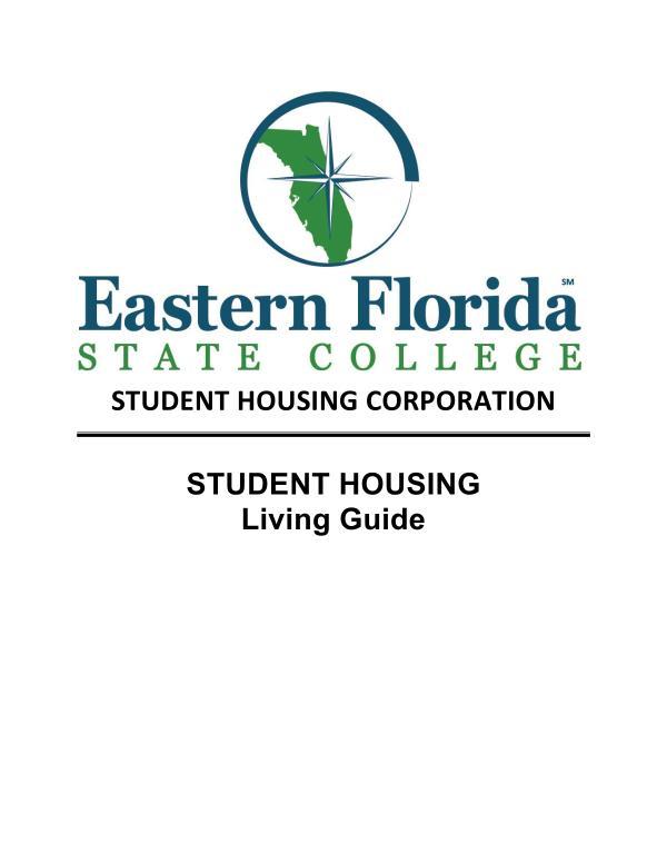EFSC Student Housing Living Guide 2021-22