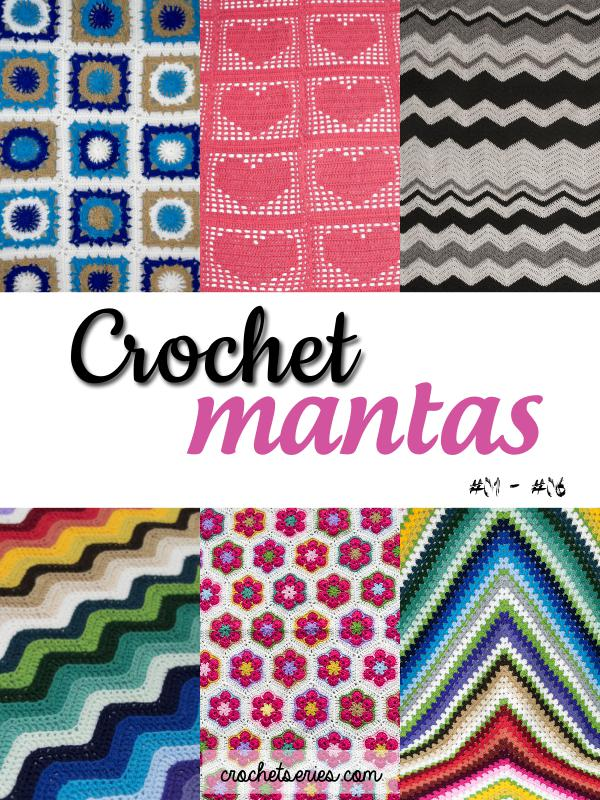 Crochet Series Mantas Nro 01