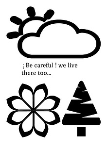 !be careful! we live there too...